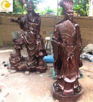 Tượng đồng Quan Công, Khổng Minh, Di lạc