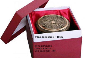 Trống đồng việt nam, quà tặng trống đồng