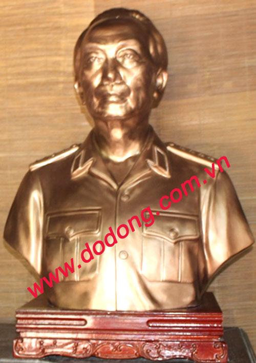 Mẫu tượng Đại tướng bằng thạch cao 30cm