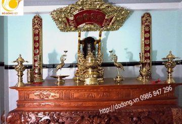 Cách bài trí tượng Phật, bàn thờ gia tiên trong nhà theo phong thủy