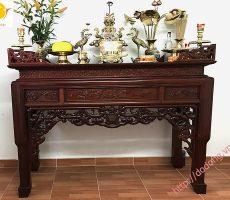 Trang trí bàn thờ gia tiên,các vật dụng bày trên bàn thờ