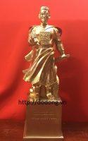 Tượng đồng Đức thánh trần bằng đồng 30cm