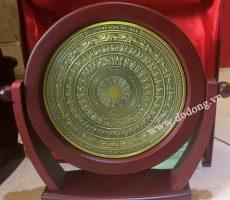Đĩa trống đồng cổ lưu niệm làm quà tặng văn hóa
