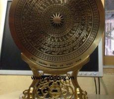 Mặt trống đồng cổ dk 25cm đế đồng đúc