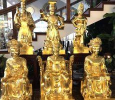 Đúc tượng các tướng lĩnh Việt nam qua các thời kỳ