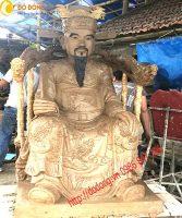 Tạo mẫu và đúc tượng đồng Thái sư Trần thủ độ 137cm