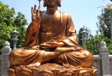 Đúc tượng Phật đồng giá rẻ, chất lượng tại Hà Nội