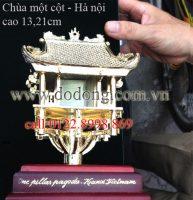 Tượng chùa một cột quà tặng bằng đồng