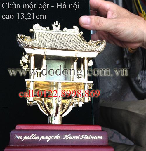 Tượng chùa một cột quà tặng bằng đồng0