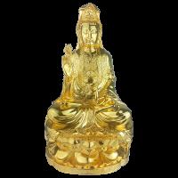 Tượng Phật Quan Thế Âm dát vàng