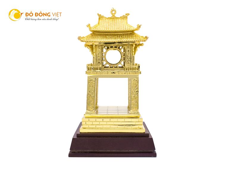 Khuê Văn Cácbằng đồng mạ vàng 24k làm quà tặng ý nghĩa0