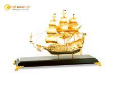 Quà tặng thuyền buồm mạ vàng 24k