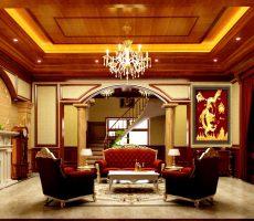 Treo tranh rồng dát vàng 24k cho phòng khách