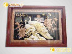 Tranh đồng Vinh hoa phú quý- quà tặng tranh đồng cao cấp