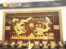 Mua tranh vàng 24k, tranh rồng phong thủy