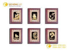 Các mẫu tranh vàng 24k làm quà tặng tân gia ý nghĩa