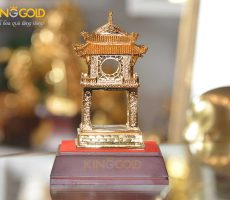 Khuê Văn Các bằng đồng mạ vàng cao cấp, giá bán Khuê Văn Các