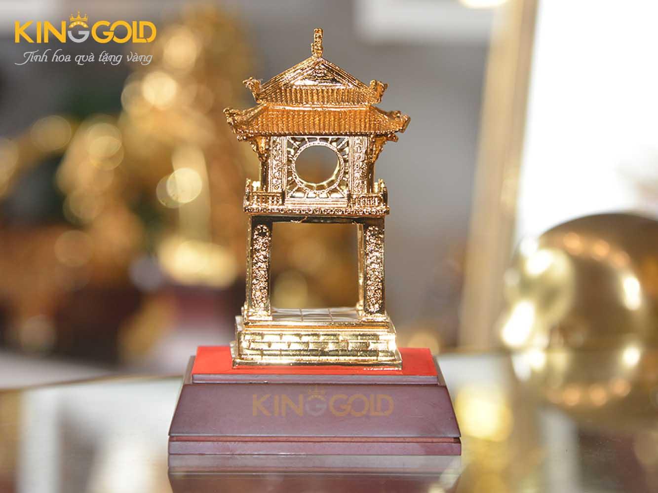 Khuê Văn Các bằng đồng mạ vàng cao cấp, giá bán Khuê Văn Các0
