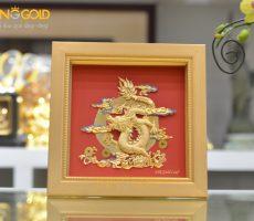 Tranh rồng mạ vàng đẹp tinh xảo- quà tặng cao cấp Tết Canh Tý 2020