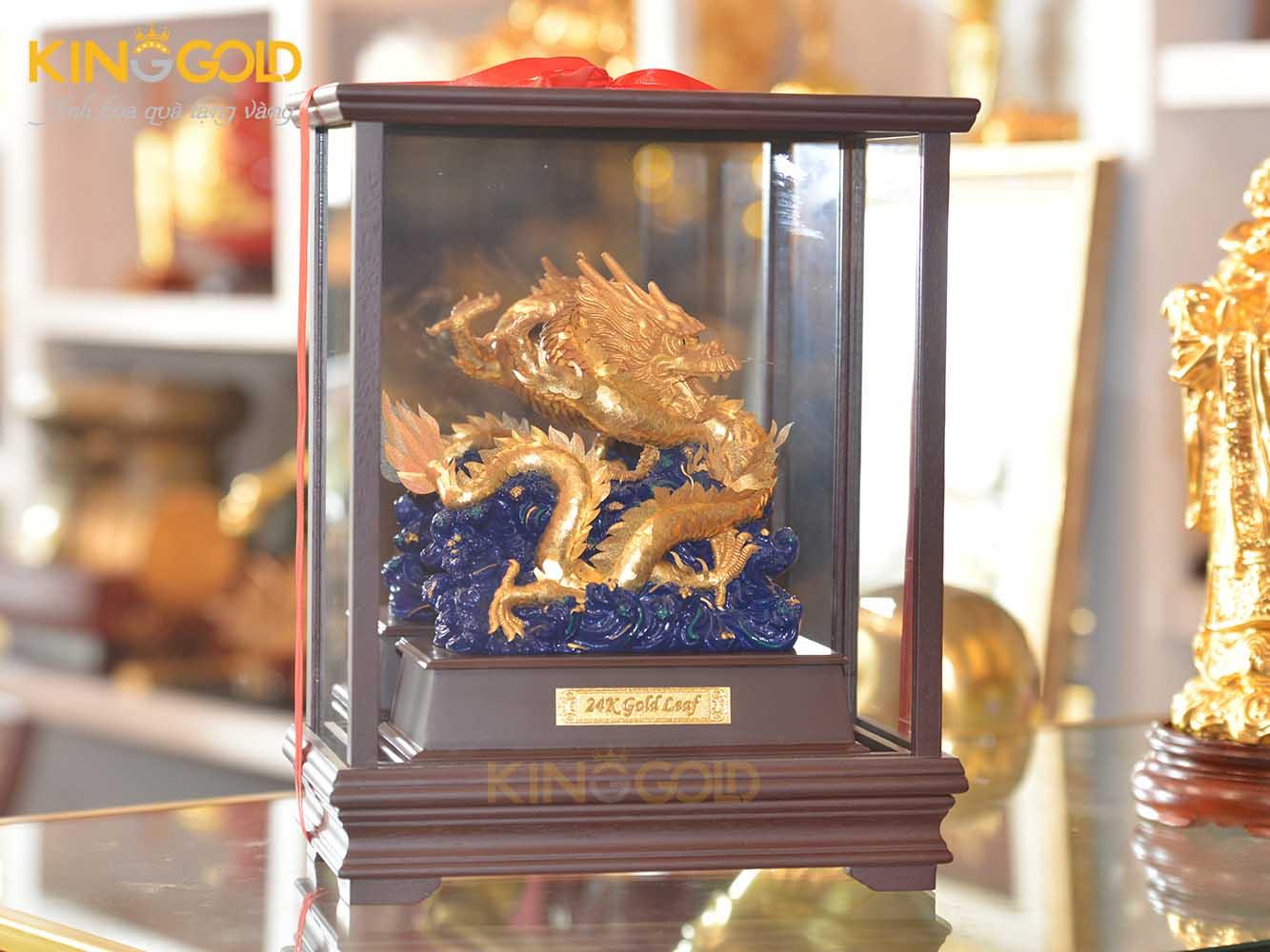 Tượng Rồng Mạ Vàng- Quà Tặng Tết 2020 Ý Nghĩa0
