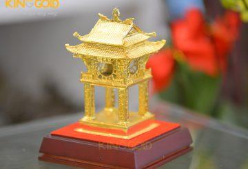 Đồ đồng mạ vàng làm quà tặng đối tác nước ngoài
