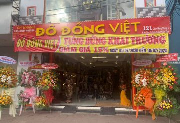 Đồ đồng Việt tưng bừng khai trương chi nhánh mới tại Cần Thơ