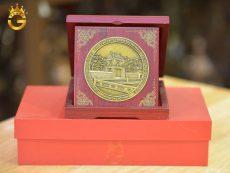 Biểu trưng gỗ đồng làm quà tặng sự kiện cuối năm