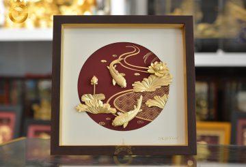 20+ gợi ý tranh vàng quà tặng được ưa chuộng nhất tại King Gold Art