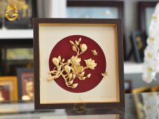 Tranh Hoa Lan Bằng Vàng 24k- quà tặng bạn gái dịp Valentine