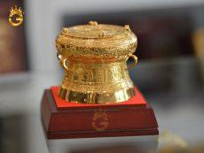 Quà tặng trống đồng mạ vàng, hồn thiêng dân tộc Việt