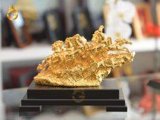 Tượng Bát Mã Truy Phong Mạ Vàng 24k cao cấp