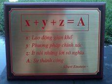 Đồ đồng Việt chế tác bảng biển bằng đồng theo yêu cầu