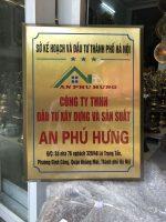 Đồ đồng Việt thiết kế logo, bảng hiệu bằng đồng theo yêu cầu