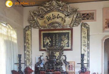 Ý nghĩa của chữ Đức Lưu Quang trong bộ Hoành Phi Câu Đối