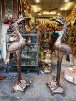 Đồ đồng Việt đúc hạc đồng thờ cúng đình chùa