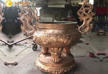 Xưởng đúc lư hương đồng cỡ lớn uy tín, chuyên nghiệp tại Hà Nội