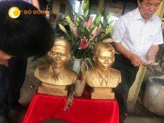 Đồ đồng Việt- cơ sở đúc tượng chân dung uy tín