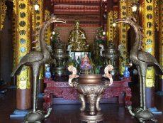 Đồ đồng Việt đúc hạc thờ cúng theo yêu cầu