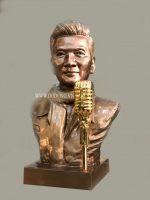 Đúc tượng chân dung, tượng nghệ sỹ bằng đồng đỏ