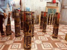Đồ đồng Việt nhận chế tác đầu đạn, vỏ đạn pháo thành đồ mỹ nghệ