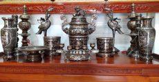 Đỉnh đồng ngũ sắc đẹp cao cấp tại Đồ đồng Việt