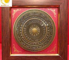 Mặt trống đồng quà tặng phiên bản trống đồng Đông Sơn